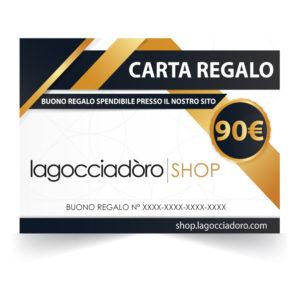 gift card 90 lagocciadoro2