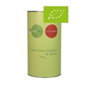 Latta rotonda di olio extravergine da 5l