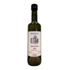 Bottiglia di Aceto di Vino da 500 ml di aceto di vino Grillo