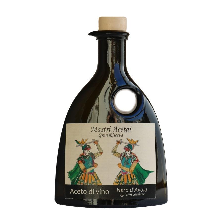 Bottiglia da 250 ml di aceto da Gran Riserva Nero d'Avola
