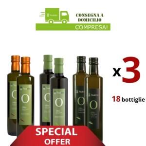 Olio EVO Monovarietali bottiglie